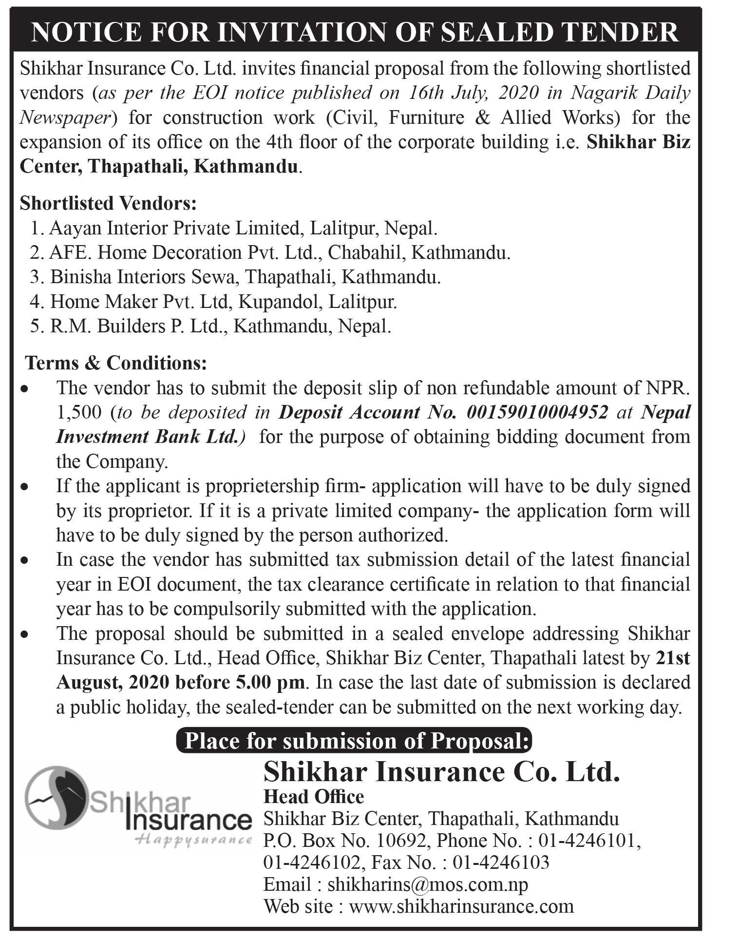 notice-for-invitation-of-sealed-tender